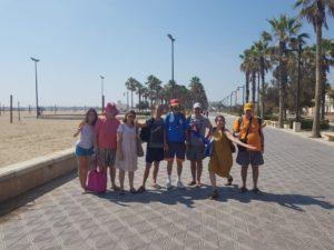 Vacaciones supervisadas playa enfermedad mental