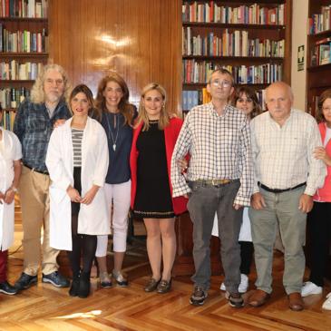 DÍA MUNDIAL DE LA SALUD MENTAL: Marta Marbán, diputada de la Asamblea de Madrid, nos visita para conocer de cerca la realidad  de la salud mental