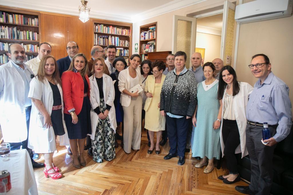 Rocío Monasterio visita a AISS